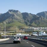 Strada principale Cape Town Sudafrica del N2 Immagine Stock