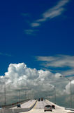 Strada principale a cielo Immagini Stock