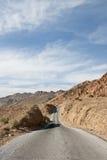 Strada principale in Death Valley Fotografie Stock