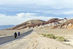 Strada principale del Death Valley Fotografia Stock Libera da Diritti