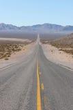 Strada principale del deserto Immagine Stock Libera da Diritti