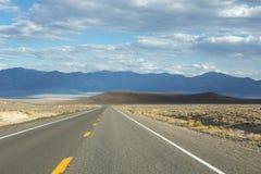 Strada principale 50 del Nevada Fotografie Stock Libere da Diritti