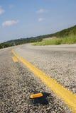 Strada principale del paese della collina del Texas immagini stock libere da diritti