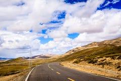Strada principale del Tibet Immagini Stock Libere da Diritti
