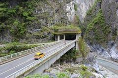 Strada principale dell'inter-isola di Taiwan Fotografia Stock