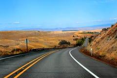 Strada principale dell'Oregon Immagini Stock Libere da Diritti
