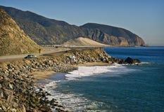 Strada principale della Costa del Pacifico, California Fotografie Stock Libere da Diritti