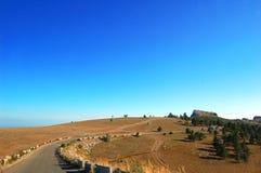 Strada principale della montagna Fotografie Stock