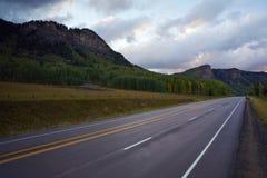 Strada principale della montagna immagine stock libera da diritti