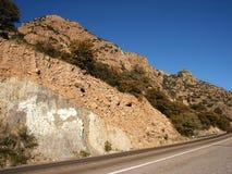 Strada principale della montagna fotografia stock libera da diritti