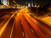 Strada principale di Ayalon Fotografia Stock