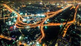 Strada principale di Bangkok Fotografie Stock