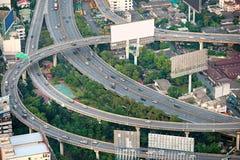 Strada principale di Bangkok, Tailandia. fotografia stock