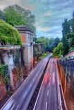 Strada principale di HDR a Roma Italia Fotografia Stock