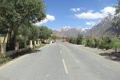Strada principale di Ladakh Immagine Stock Libera da Diritti