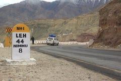 Strada principale di Ladakh-2 Fotografia Stock Libera da Diritti