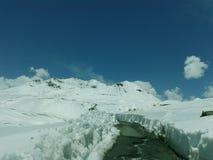 Strada principale di Leh-Ladakh Immagine Stock