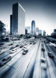 Strada principale di Los Angeles Fotografia Stock