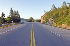 Strada principale di TransCanada Fotografie Stock