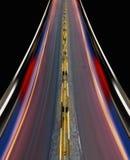 strada principale di Veloce-velocità della città Immagine Stock Libera da Diritti