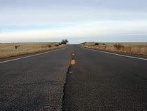 Strada principale lunga Fotografia Stock