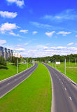 Strada principale moderna Immagini Stock Libere da Diritti