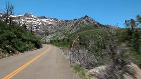 Strada principale nel Nevada stock footage