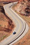 Strada principale nell'Utah Fotografia Stock Libera da Diritti