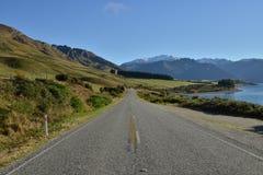 Strada principale Nuova Zelanda Fotografie Stock