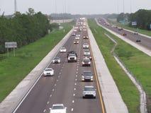 Strada principale occupata di Florida fotografia stock libera da diritti