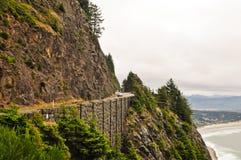 Strada principale 101 Oregon Fotografie Stock Libere da Diritti