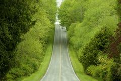 Strada principale rurale immagine stock