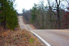 Strada principale rurale immagini stock libere da diritti