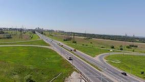 Strada principale, scambio Fucilazione aerea archivi video