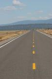Strada principale senza fine Fotografia Stock