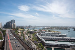 Strada principale a Sydney Fotografia Stock