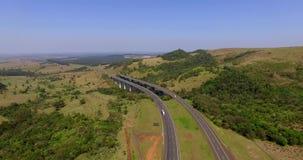 Strada principale universalmente, strada principale Castelo Branco, sao Paulo South America Brazil stock footage