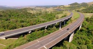 Strada principale universalmente, strada principale Castelo Branco, sao Paulo South America Brazil video d archivio