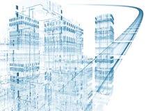 Strada principale virtuale illustrazione di stock