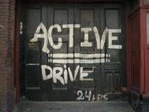 Strada privata attiva Fotografia Stock Libera da Diritti
