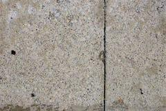 Strada privata del cemento Fotografia Stock