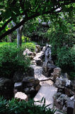 Strada prolungata del giardino immagine stock libera da diritti