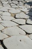 Strada romana antica Immagine Stock