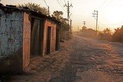 Strada rurale Immagine Stock