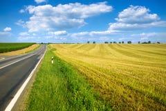 Strada rurale Immagini Stock