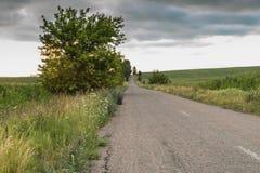 Strada rurale Fotografie Stock