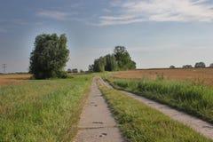 Strada rurale HDR Fotografie Stock Libere da Diritti