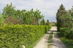 Strada rurale lunga fotografia stock libera da diritti