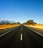Strada rurale splendida fotografie stock