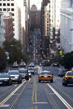 Strada a San Francisco Fotografie Stock